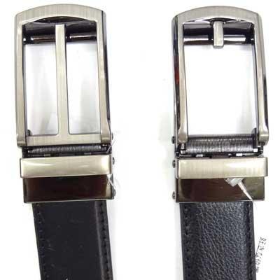 画像4: 紳士 ビジネスベルト 30mm L寸 牛革 コンフォート型 オートロック 箱売り(10本アソート)