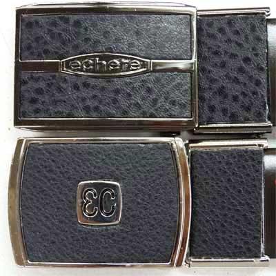 画像4: 紳士 ビジネスベルト 33mm L寸 合皮 エチェル オートロック 箱売り(10本アソート)