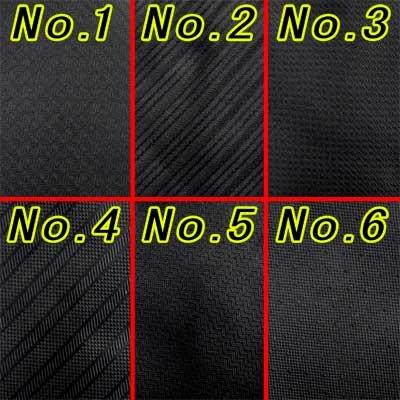 画像5: 日本製黒ネクタイ 正絹(シルク) 柄入 撥水加工 2055-101