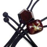 日本製 ループタイ ボロータイ ポーラータイ 正絹紐 本うるし