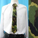 日本製 ネクタイ ユニセックス 綿 迷彩