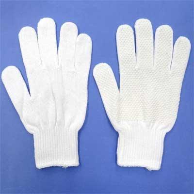 画像2: 紳士用白手袋 作業用 綿 カーグリップ滑り止め付き ROUTE66 No.661