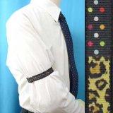 日本製裄吊り ハンドプリント 交差絵の具/縦列絵の具