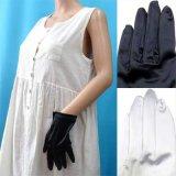 日本製スパンサテン手袋 30cm(肘中丈)