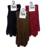 日本製婦人ジャージ手袋 カシミヤ100% 無地 基本色