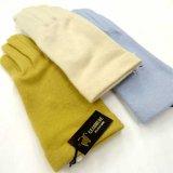 日本製婦人ジャージ手袋 カシミヤ100% 無地
