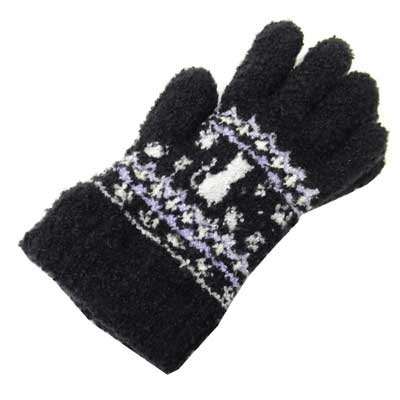 画像1: 日本製子供用手袋 猫 No.5562