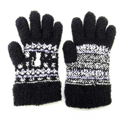 画像2: 日本製子供用手袋 猫 No.5562
