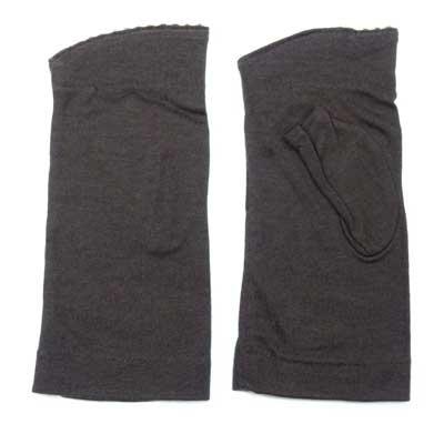 画像2: 日本製婦人ジャージ手袋 指無し 天然素材使用 糸玉